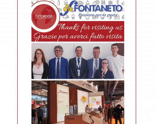 TUTTO FOOD 2019 thanks for visiting us